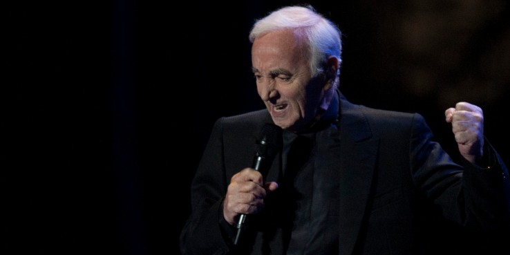 SPAIN-MUSIC-STARLITE-AZNAVOUR