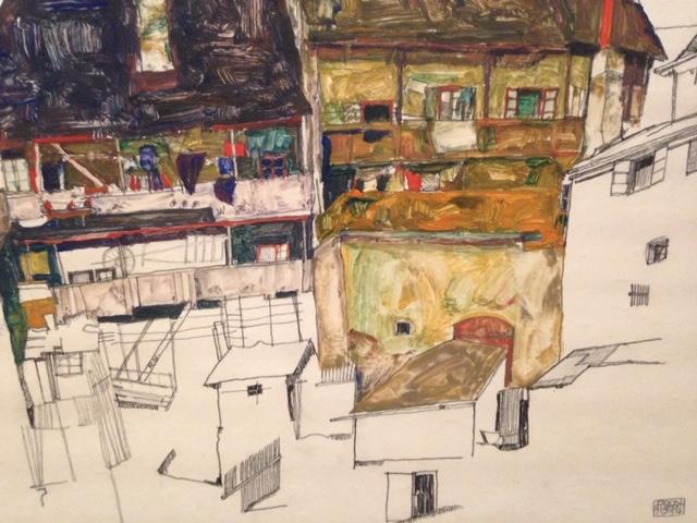 Schiele-casas