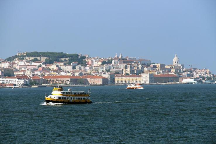 Lisboa, terra, rio e mar