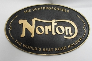 metal-norton-motor-cycle-plaque