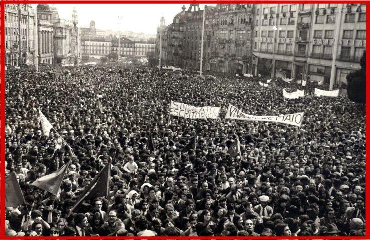 Primeiro 1º Maio no Porto