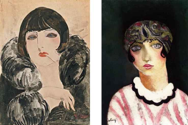 Left-Kees-van-Dongen--Right-Moise-Kisling