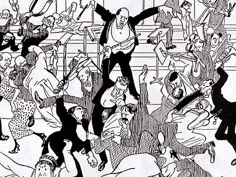Watschenkonzert_Karikatur_in_Die_Zeit_