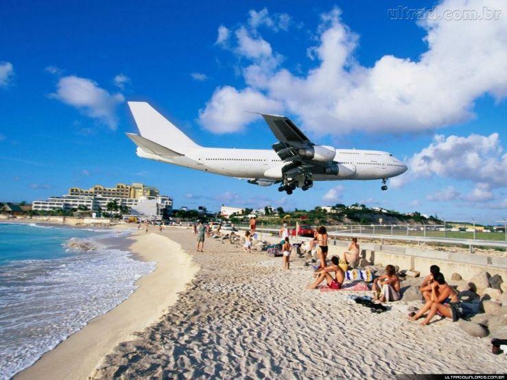Aeroporto-Baia-Maho-Saint-Martin