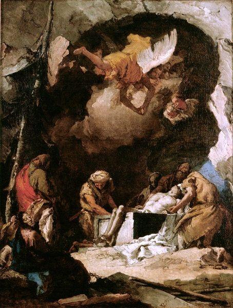 Cristo túmulo
