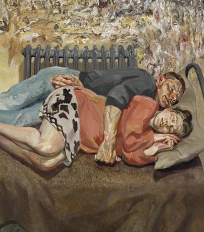 ib e o seu marido, Lucien Freud