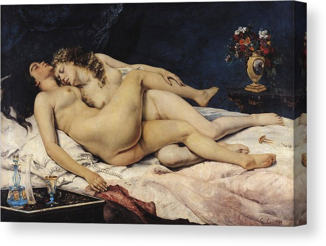 sommeil-gustave-courbet