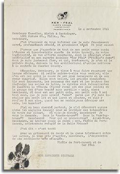 carta de Fidele