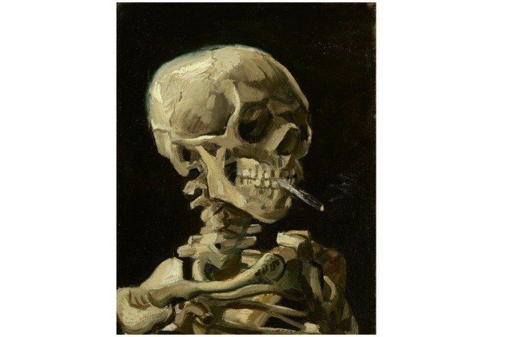 Vincent-vanGogh-Head-of-a-skeleton-with-a-burning-cigarette